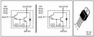 Simple 150 Watt Amplifier Circuit Using Transistors