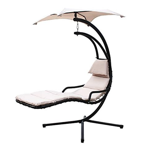 Hammock Lounge Chair by Xtremepowerus Floating Swing Chaise Lounge Chair Hammock