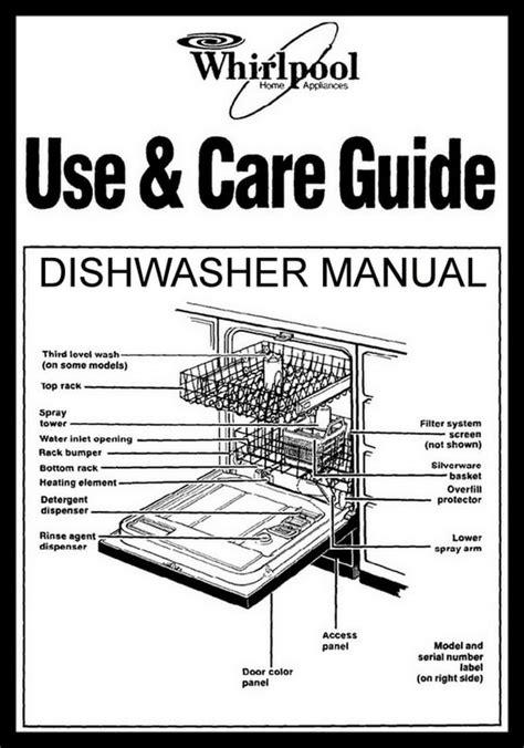 Whirlpool Dishwasher Error Codes Lights Blinking