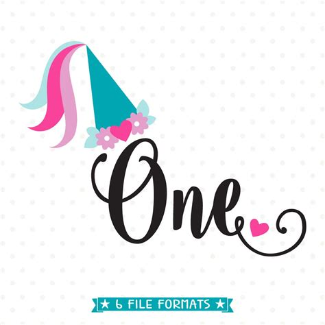 Any backgrounds, logos, mock ups, photos, watermarks, framed or cut images are for illustration. 1st Birthday SVG Princess Birthday SVG file First Birthday