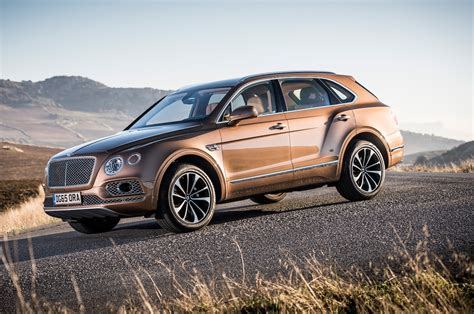 2017 bentley bentayga second review motor trend