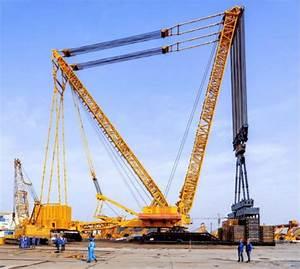 Xcmg Xgc88000 Crawler Crane  4 000 Ton