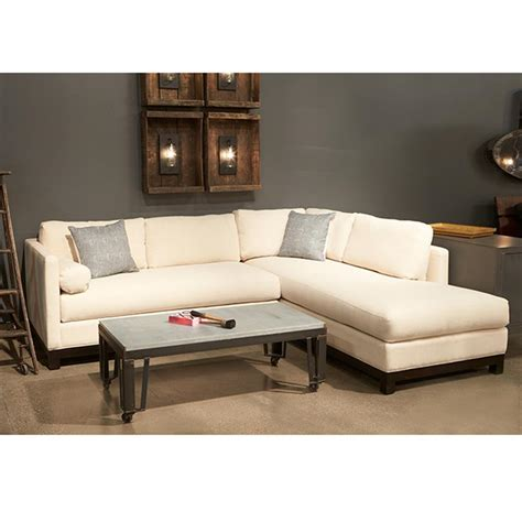 linen sectional sofa cisco brothers cosmo modern linen sofa sectional