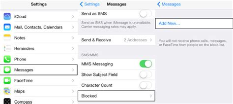 how to block texts on iphone how to block someone on imessage on iphone ios tip