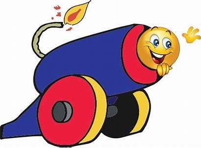 Canon Clipart Smiley Cannon Emoticon Cliparts Emoji