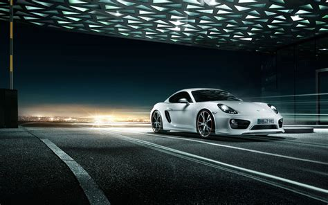 2013 Porsche Cayman By Techart Wallpaper