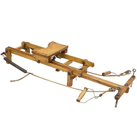Vintage Wooden Rowing Machine At 1stdibs