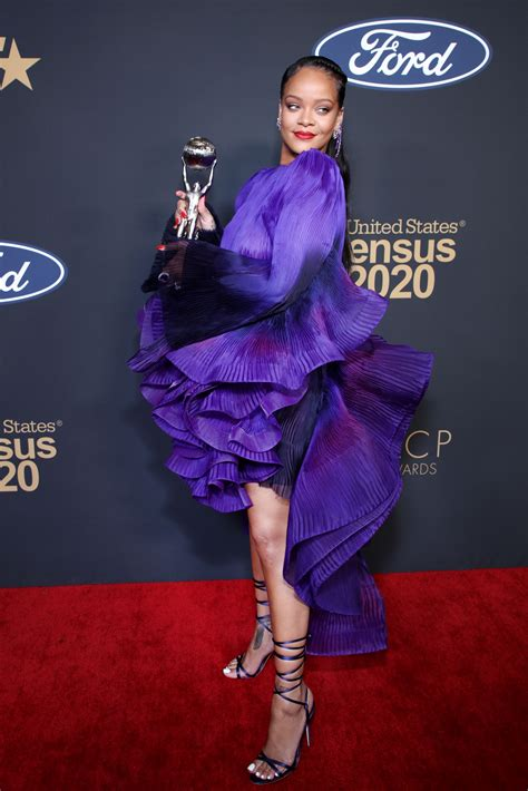 Rihanna Delivers a Powerful Speech at the NAACP Image Awards
