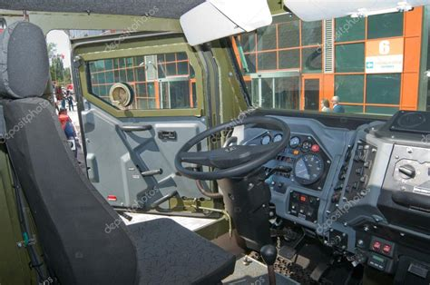 armored vehicles inside the cab interior armored car ural 4320vv at the exhibition
