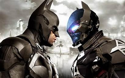 Batman Knight Arkham Wallpapers Background Behind Vector