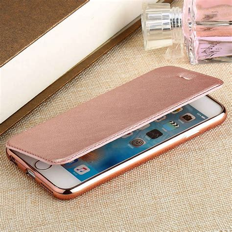 flip iphone 7 flip ultra thin tpu leather card slot cover shell for iphone 7 7 plus new ebay