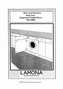 Lamona Integrated Tumble Dryer - Hja8800