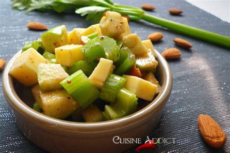 celeri cuisine salade de céleri branche cuisine addict cuisine addict