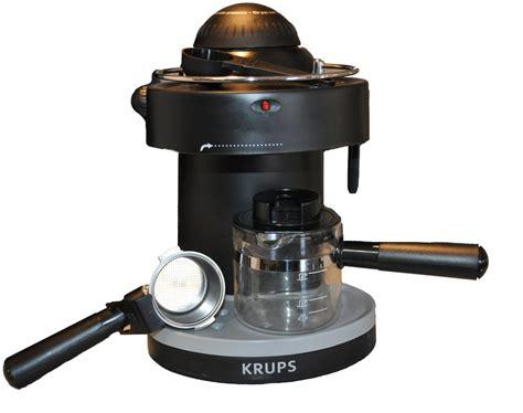 krups xp solo steam espresso machine review