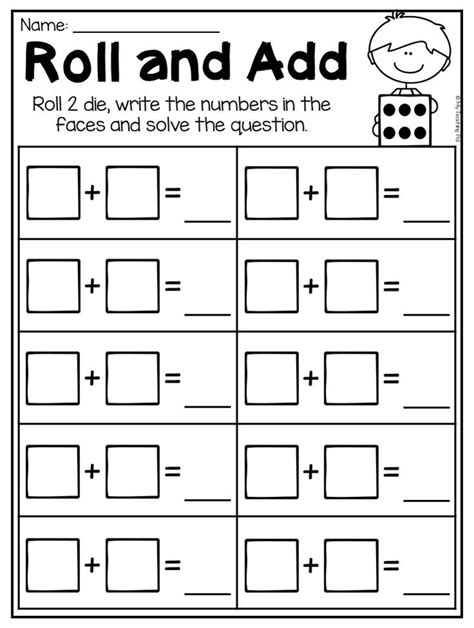 kindergarten addition and subtraction worksheets up to 10