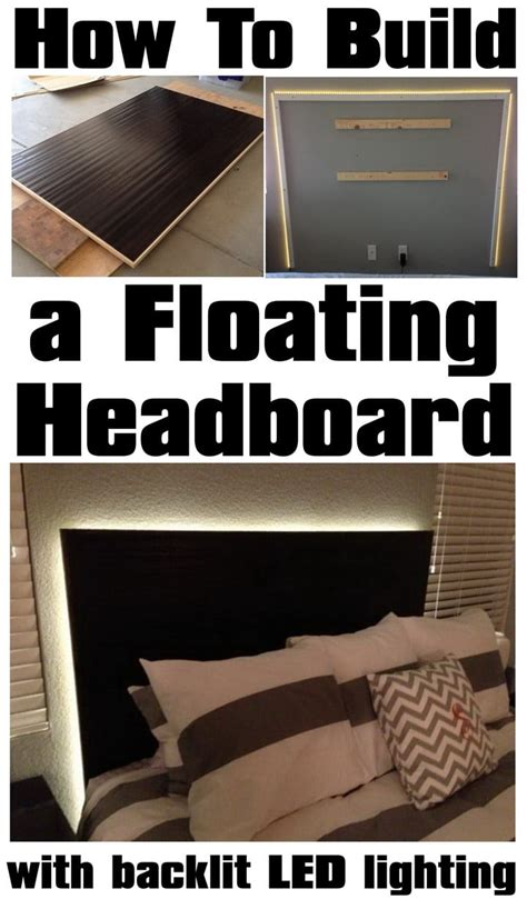 how to shop for a bed how to make a floating headboard with led lighting removeandreplace com