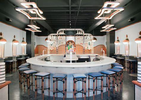 memphis meets secession  las coolest  bar interior