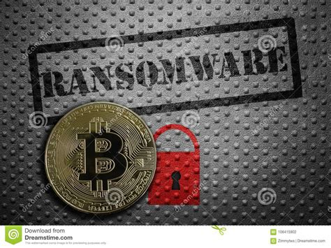 Bitcoin and other cryptocurrencies are fueling a wave of ransomware attacks to the tune of $1.4 billion in the u.s. Ransomware bitcoin concept stock photo. Image of illegal - 106415902