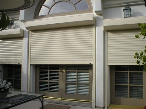 Vacation Home  Southern California Rolling Shutters