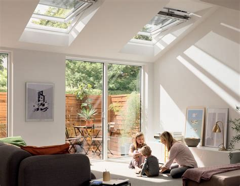 velux top hung roof windows bright white painted finish