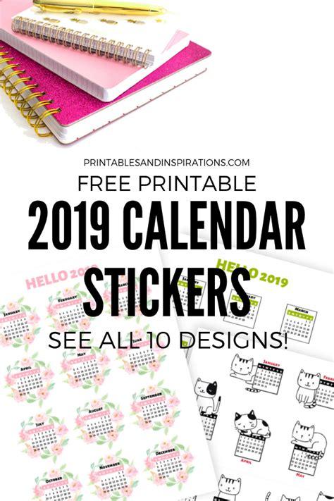 calendar stickers  bullet journal  planner