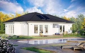 Dänische Fertighäuser Bungalow : fertighaus bungalow sh 160 wb mit walmdach scanhaus ~ Watch28wear.com Haus und Dekorationen