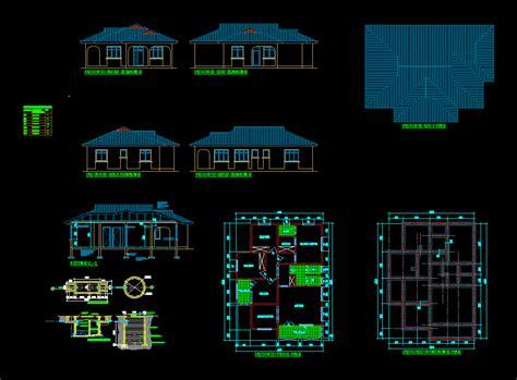 house plan  bedroom dwg plan  autocad designs cad