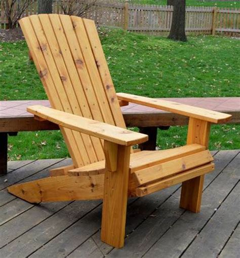 free adirondack chair plans diy