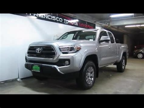 Toyota San Bruno by 2017 Toyota Tacoma Sr5 Access Cab San Francisco Daly City