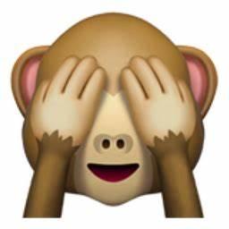 See-No-Evil Monkey Emoji (U+1F648)