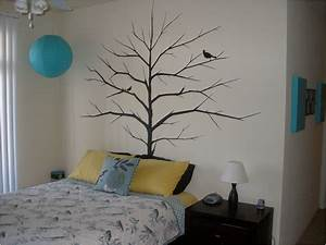 interior tree wall painting teen girl room decor kids With childrens bedroom wall painting ideas