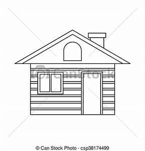 dessin de maison en bois With dessin de maison en bois