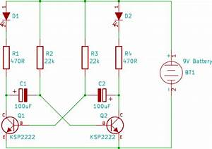 Tutorial 8  Dual Led Flasher Circuit For Beginners In