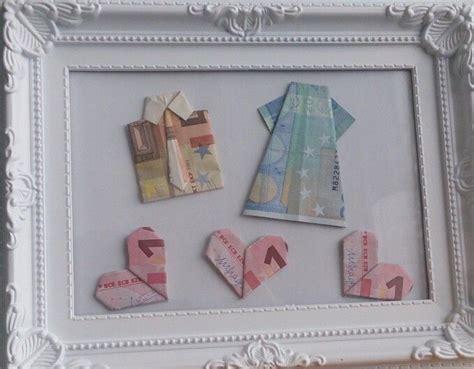 geldgeschenk hochzeit wedding present idea bastel