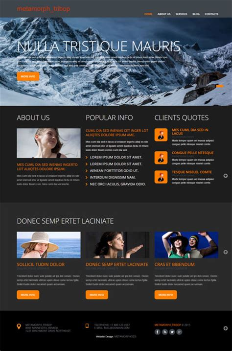 Free Website Templates by Website Templates Free Website Templates Free Web