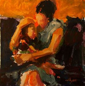 abstract mother daughter painting | Art | Pinterest ...