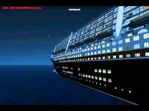 Lego Ship Sinking Titanic by Raise The Poseidon Part 1 Back To The Past Youtube