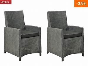 Fauteuil Jardin Pas Cher : chaise de jardin metal blanc ~ Teatrodelosmanantiales.com Idées de Décoration