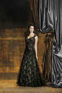 black lace bridesmaid dresses dramatic illusion black lace wedding dress with vintage look sang maestro