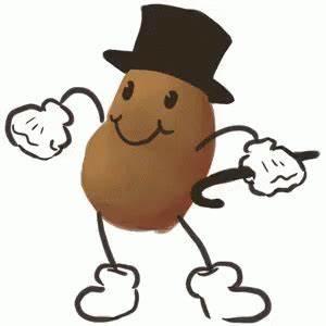 Mr Potato GIF - Potato Potatoes Dance - Discover & Share GIFs