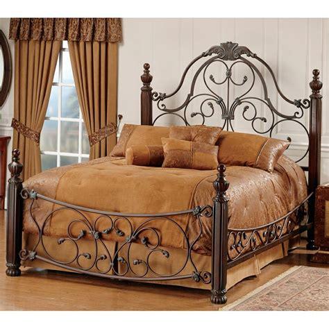Metallbett Mit Holz by Bonaire Iron Wood Bed Wood Metal Beds Headboards