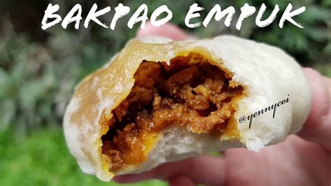 Bakpao (china) posted on 24/06/2019 by admin. Resep bakpao empuk - YouTube