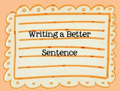 28 Best Images About Complete Sentences On Pinterest  Crafting, High Five And Sentence For