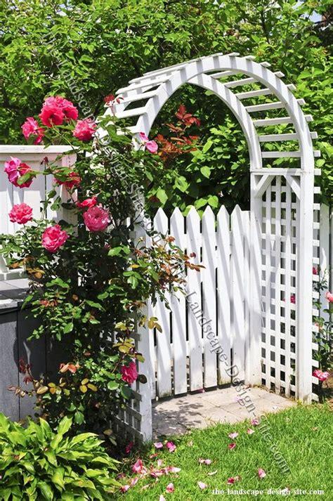 garden gate arbor entryway yard garden ideas