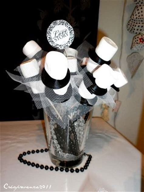 bridal shower en noir et blanc black and white bridal shower prunille fait show