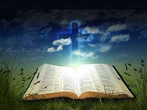 Image Gallery open bible verse background