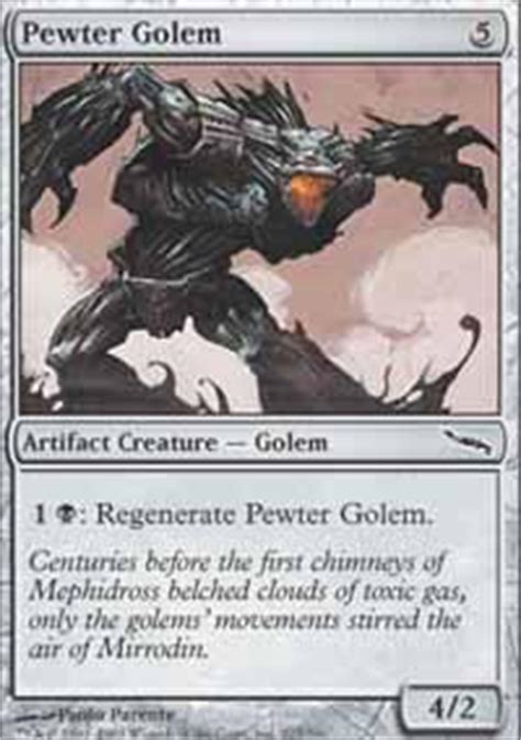 Magic The Gathering Golem Deck by Bait Bludgeon Magic The Gathering Deck