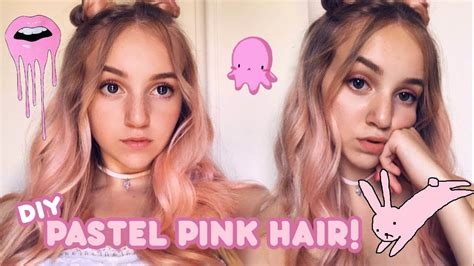 Dying My Hair Pastel Pink! 🌸 Manic Panic Cotton Candy