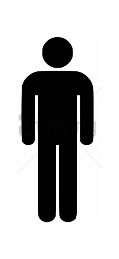 Transparent Symbol Male Clipart Toilet Pinclipart Automatically