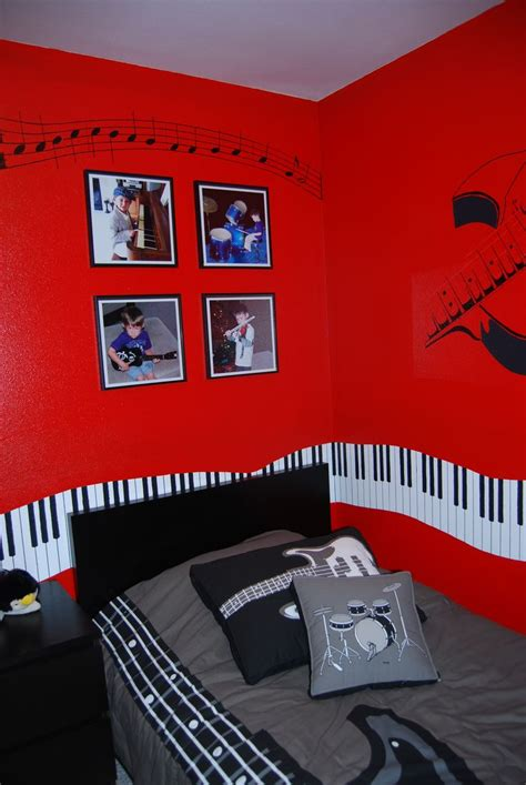 themed design music themed bedroom decorating ideas